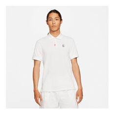 Nike Mens Slam Slim Fit Polo White M, White, rebel_hi-res