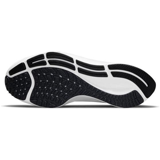 Nike Air Zoom Pegasus 38 Kids Running Shoes, Black/White, rebel_hi-res