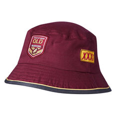 QLD Maroons State of Origin 2018 Bucket Hat, , rebel_hi-res