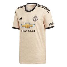 Manchester United 2019/20 Kids Away Jersey Brown / Black 8, Brown / Black, rebel_hi-res