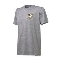Anaheim Ducks Mens Pattison Tee Grey S, Grey, rebel_hi-res