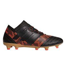 adidas Nemeziz 17.1 Mens Football Boots Black / Red US 7 Adult, Black / Red, rebel_hi-res