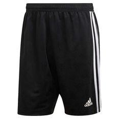 adidas Mens Tango Jacquard Shorts Black XS, Black, rebel_hi-res