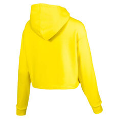 Puma Womens Trailblazer Hoodie Yellow XS, Yellow, rebel_hi-res