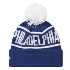 Philadelphia 76ers 2019 Kids New Era Knits On Fire Beanie, , rebel_hi-res