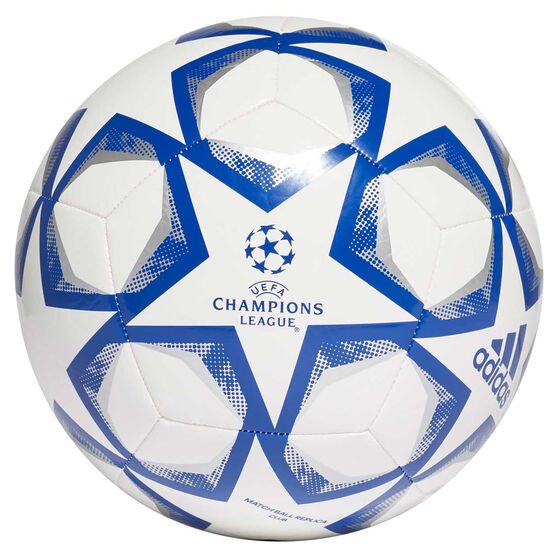 UEFA Champions League Finale 2020 Club Soccer Ball, White/Blue, rebel_hi-res