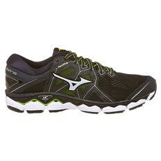 Mizuno Wave Sky 2 2E Mens Running Shoes Black US 9, Black, rebel_hi-res
