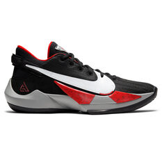 Nike Zoom Freak 2 Mens Basketball Shoes Black/White US 7, Black/White, rebel_hi-res