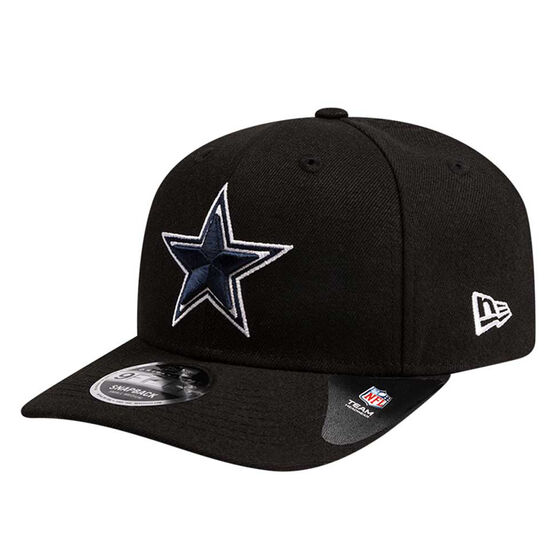 Dallas Cowboys New Era 9FIFTY Team Binder Cap Black M/L, Black, rebel_hi-res