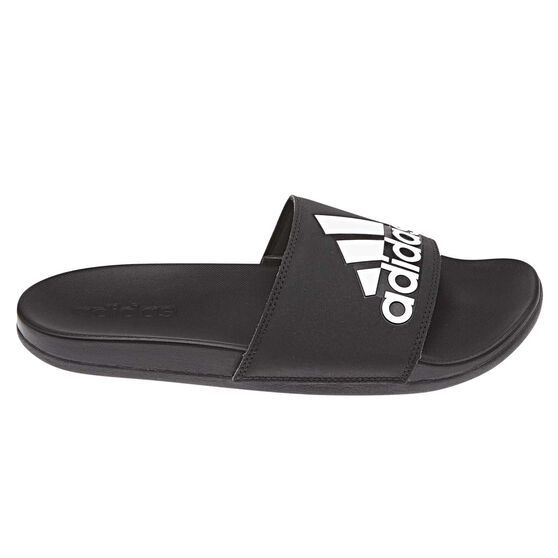 adidas Adilette Comfort Mens Slides, Black, rebel_hi-res