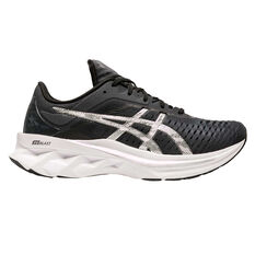 Asics Novablast Platinum Womens Running Shoes Charcoal/Black US 6, Charcoal/Black, rebel_hi-res