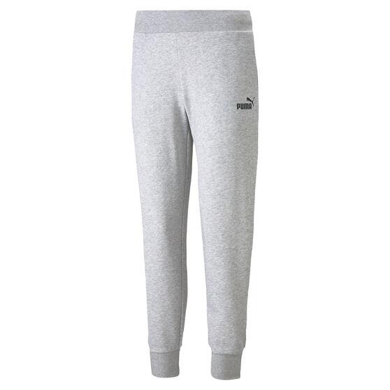 Puma Womens Essentials Sweatpants, Grey, rebel_hi-res