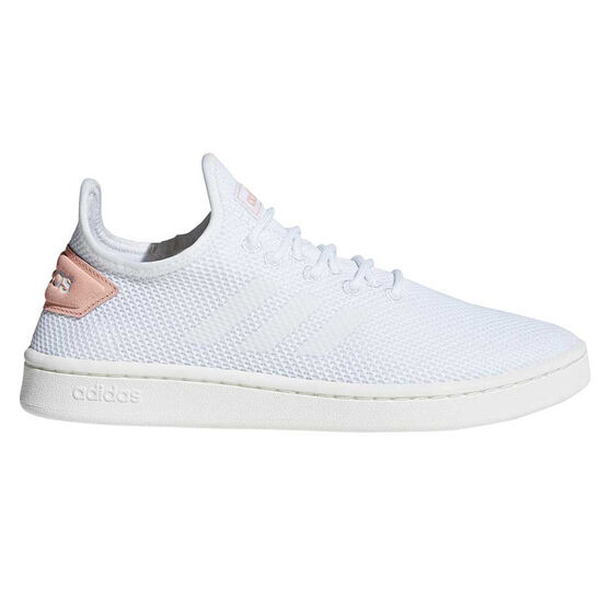 adidas Court Adapt Womens Casual Shoes White / Pink US 11, White / Pink, rebel_hi-res