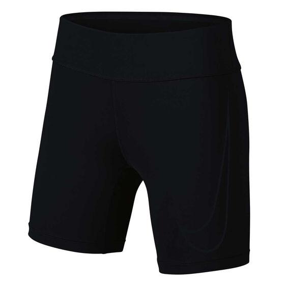 Nike Womens Power Fast Running Shorts Black XL, Black, rebel_hi-res