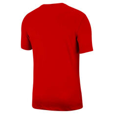 Nike Mens Legend Dri-FIT Training Tee Red S, Red, rebel_hi-res