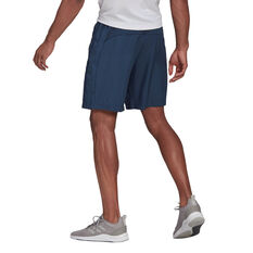 adidas AEROREADY Designed 2 Move Mens Shorts Navy XS, Navy, rebel_hi-res