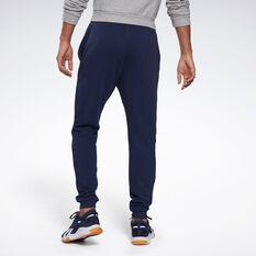 Reebok Mens Identity Big Logo Fleece Pants, Navy, rebel_hi-res