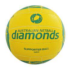 Gilbert Netball Australia Diamonds Supporter Netball 5, , rebel_hi-res