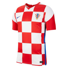 Croatia 2020 Mens Stadium Home Jersey Red/White S, Red/White, rebel_hi-res
