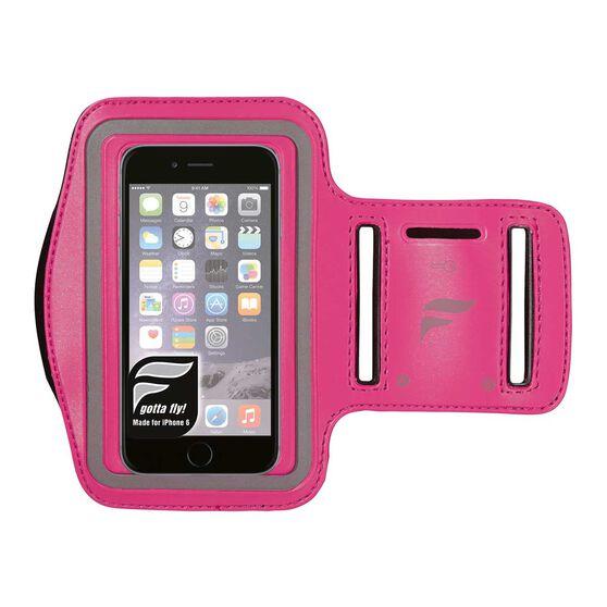 Fly Active iPhone 6 Audio Armband Pink OSFA, Pink, rebel_hi-res