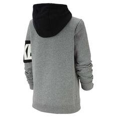 Nike Boys Sportswear Full Zip Hoodie Grey XS, Grey, rebel_hi-res