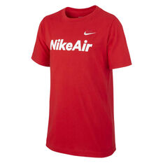 Nike Sportswear Boys Nike Air Tee Red / White XS, Red / White, rebel_hi-res