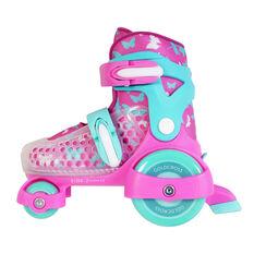 Goldcross GXC145 Inline Skates, Pink, rebel_hi-res