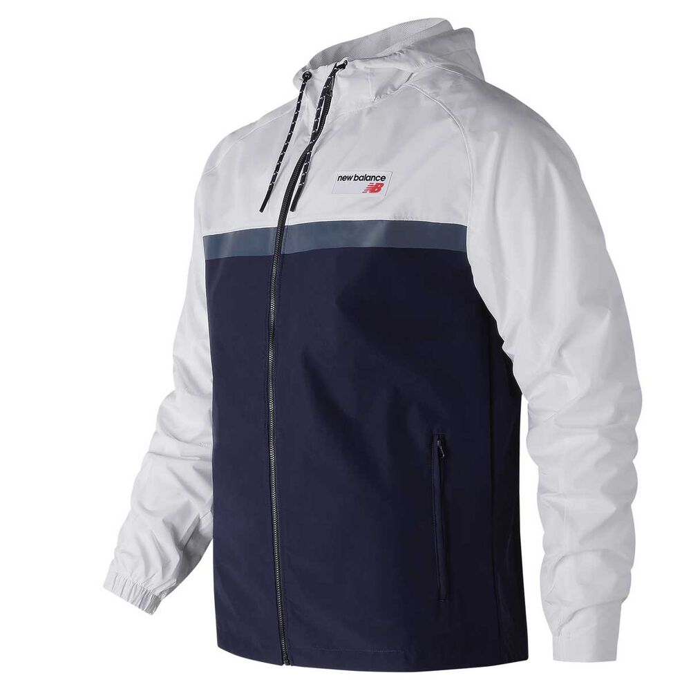 1d5926584 New Balance Mens Athletic 78 Jacket White S adult, White, rebel_hi-res