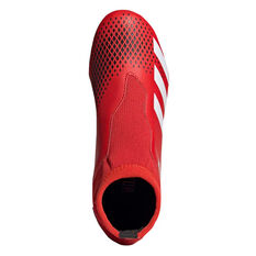adidas Predator 20.3 Laceless Kids Football Boots, Red / White, rebel_hi-res