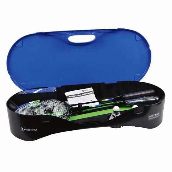 Verao Portable 4 Player Badminton Set, , rebel_hi-res