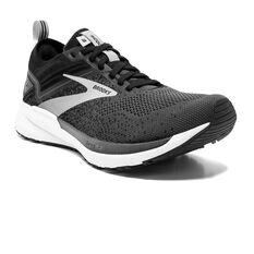 Brooks Ricochet 3 Mens Running Shoes, Black/Grey, rebel_hi-res