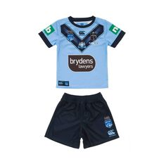 NSW Blues State Of Origin 2020 Kids Jersey Blue 0, Blue, rebel_hi-res