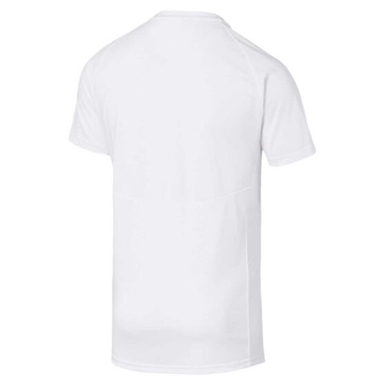 Puma Mens Evostripe Tee, White, rebel_hi-res