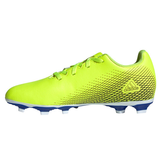 adidas X Ghosted .4 Kids Football Boots, Yellow, rebel_hi-res