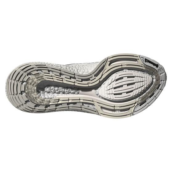 adidas Ultraboost 21 Mens Running Shoes, White, rebel_hi-res