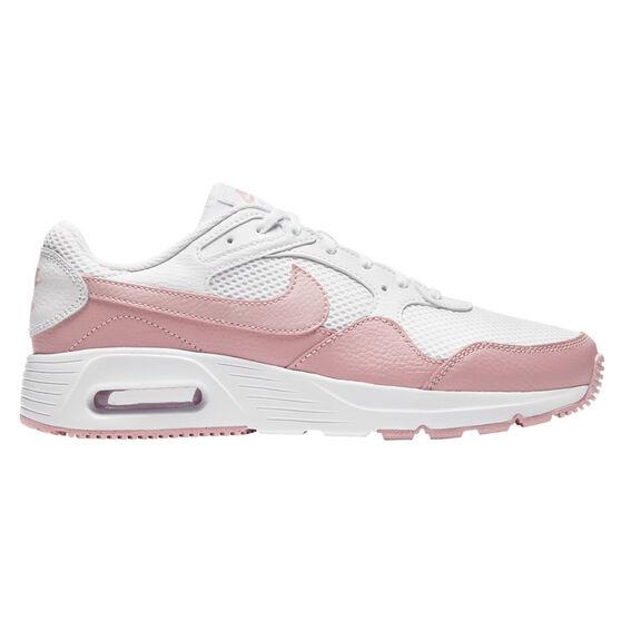 Nike Air Max SC Womens Casual Shoes, White/Pink, rebel_hi-res