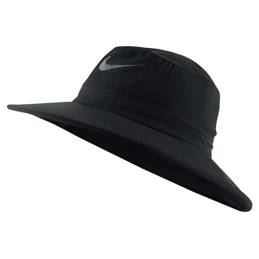 Nike Sun Tech Bucket Hat Black L   XL Adult  67a91b16bd0