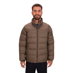 Macpac Men's Halo Down Jacket Brown S, Brown, rebel_hi-res