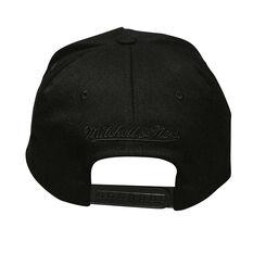 LA Clippers Black On Black 110 Pinch Cap, , rebel_hi-res