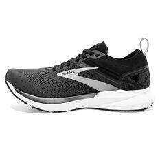 Brooks Ricochet 3 Mens Running Shoes Black/Grey US 8, Black/Grey, rebel_hi-res