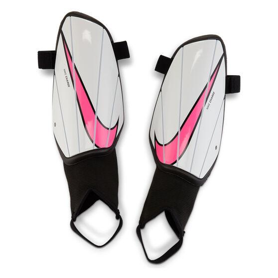 Nike Charge Shin Guards, White, rebel_hi-res