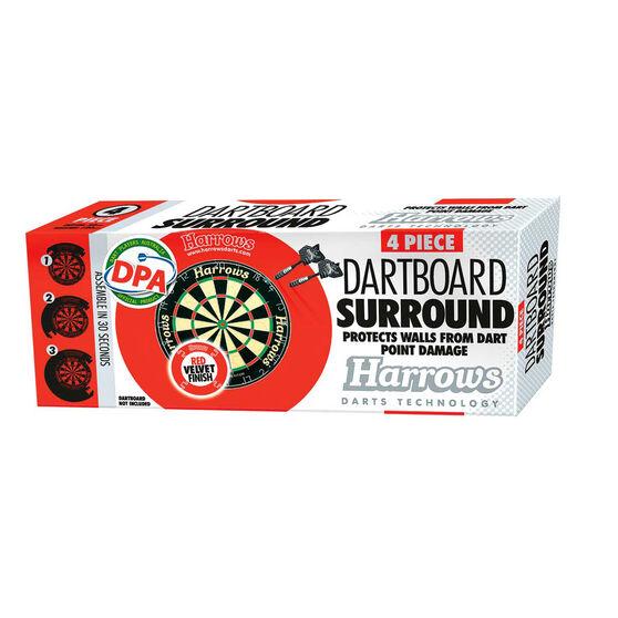Harrows DPA Dart Board Surround Red, , rebel_hi-res
