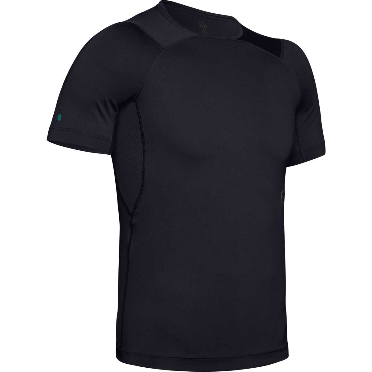 New Mens Compression Shirt Sports Base Layer Short Sleeve Workout Gym AFL Take 5