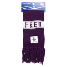 Freemantle Dockers Bar Supporter Scarf, , rebel_hi-res