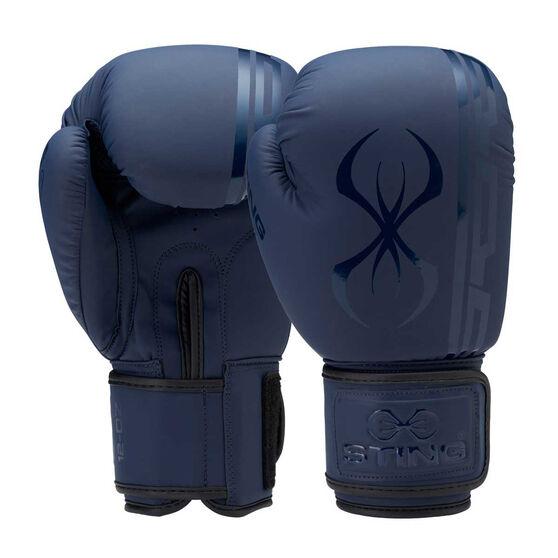 Sting Armaplus Boxing Gloves, Navy, rebel_hi-res