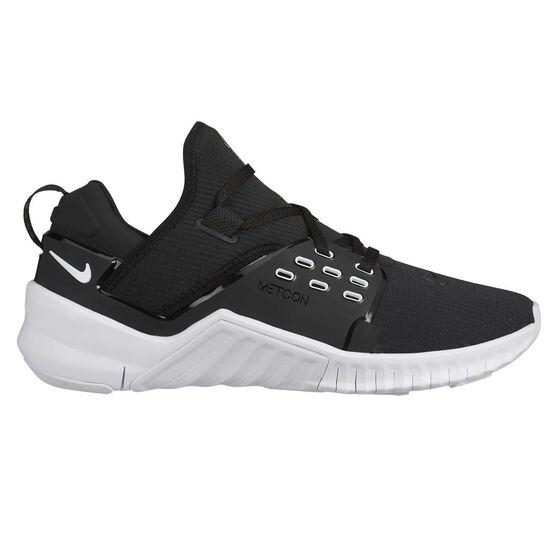 Nike Free Metcon 2 Womens Training Shoes, Black / White, rebel_hi-res