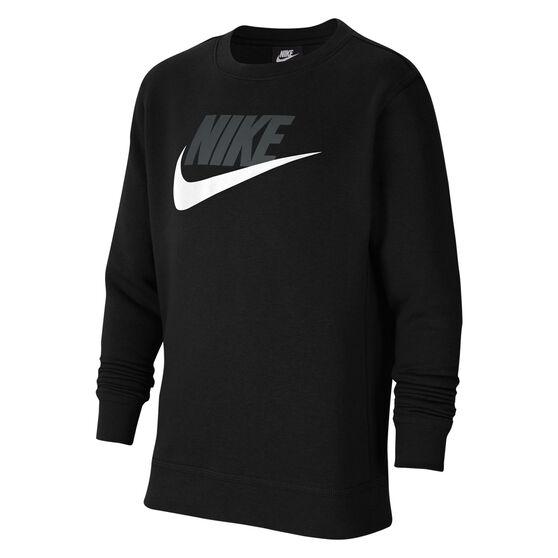 Nike Boys VF NSW Club HBR Sweatshirt, Black, rebel_hi-res