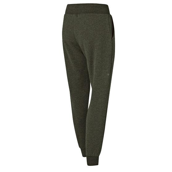 Ell & Voo Womens Harper Fleece Pants, Khaki, rebel_hi-res