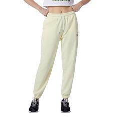 New Balance Womens Athletics Intelligent Choice Sweatpants Yellow XS, Yellow, rebel_hi-res