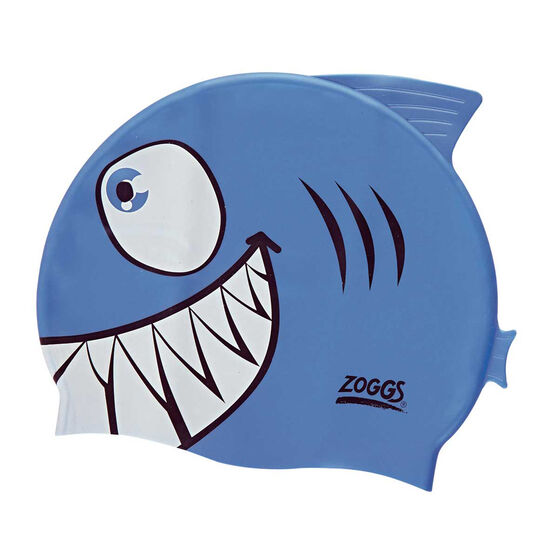 Zoggs Character Silicone Junior Swim Cap, , rebel_hi-res